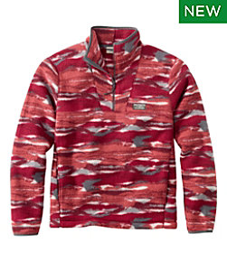 Men's Katahdin Fleece Pullover, Print