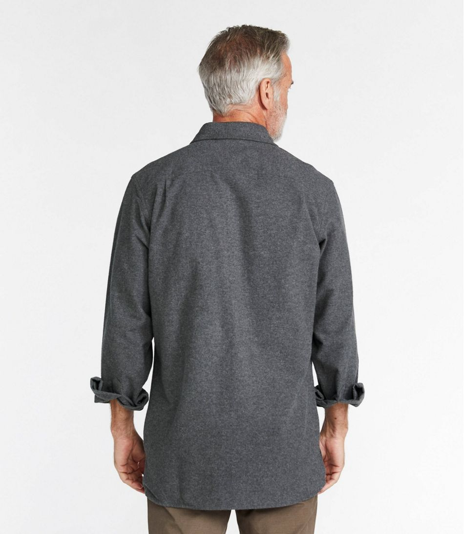 Men's Chamois Shirt, Slightly Fitted