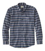Men's Comfort Stretch Flannel Shirt, Traditional Fit, Stripe