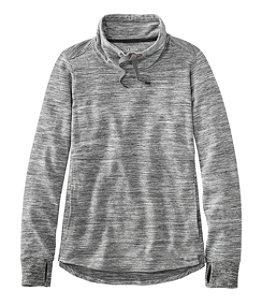 Women's L.L.Bean Cozy Mixed Pullover Sweatshirt, Marled