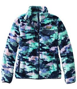 Women's L.L.Bean Hi-Pile Fleece Full-Zip Jacket, Print