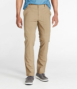 Men's Stretch Canvas Pants, Standard Fit