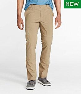 Men's Stretch Canvas Pants, Standard Fit