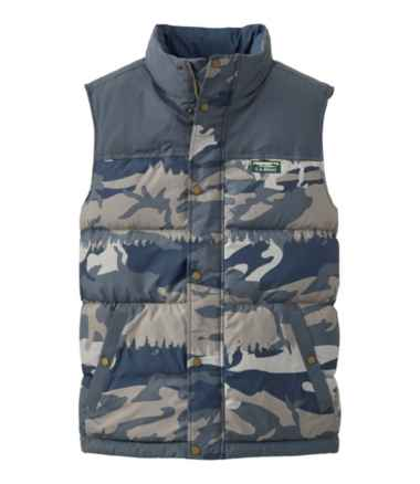 Men's Mountain Classic Down Vest, Print