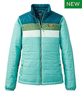 Women's Mountain Classic Puffer Jacket, Colorblock