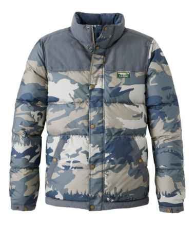 Men's Mountain Classic Down Jacket, Print