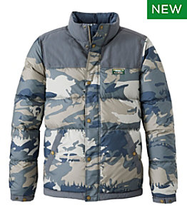 Men's Mountain Classic Down Jacket, Print
