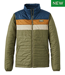Men's Mountain Classic Puffer Jacket, Colorblock