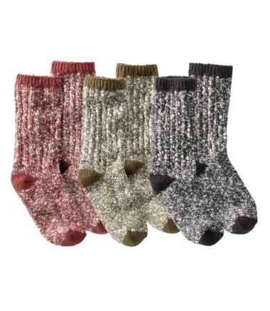 Adults' Cotton Ragg Sock, Three-Pack Gift Set