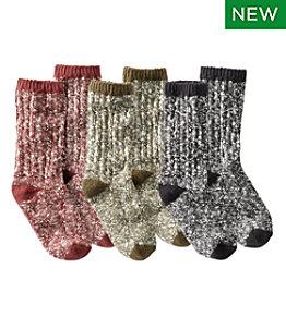 Adults' Cotton Ragg Sock, Three-Pack Gift Set