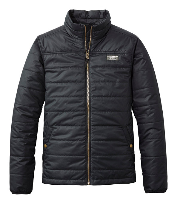 Mountain Classic Puffer Jacket, Black, large image number 0