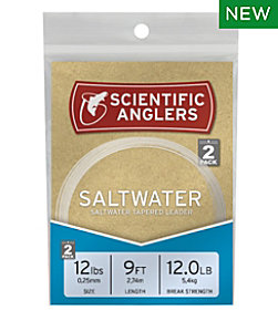 Scientific Anglers Saltwater Nylon Leaders, 9' 2-Pack