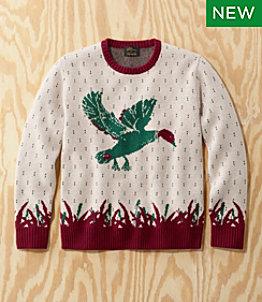 Men's L.L.Bean x Todd Snyder Heritage Sweater, Crewneck, Fair Isle