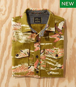Men's L.L.Bean x Todd Snyder Chamois Shirt, Pattern