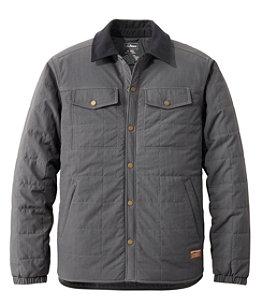 Men's Insulated Utility Shirt Jacket