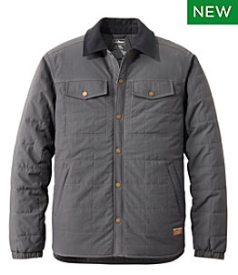 Men's Insulated Utility Shirt Jacket