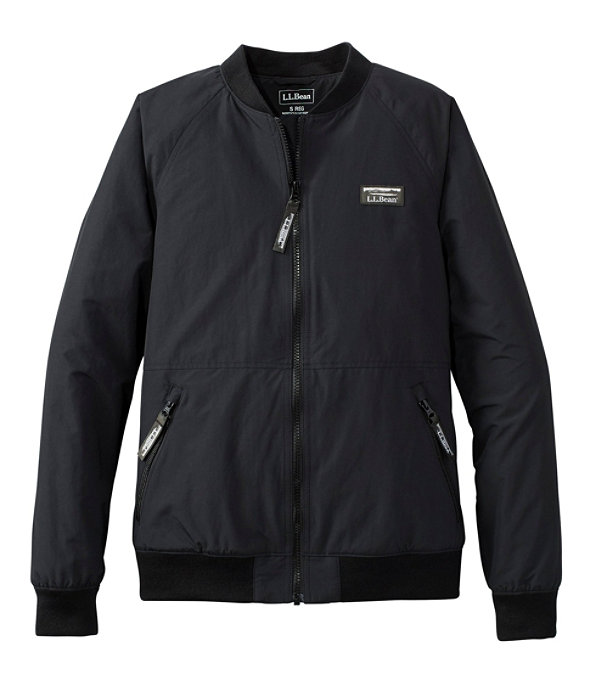 Three-Season Bomber Jacket, Black, large image number 0