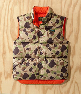 Men's L.L.Bean x Todd Snyder Puffer Vest, Pattern