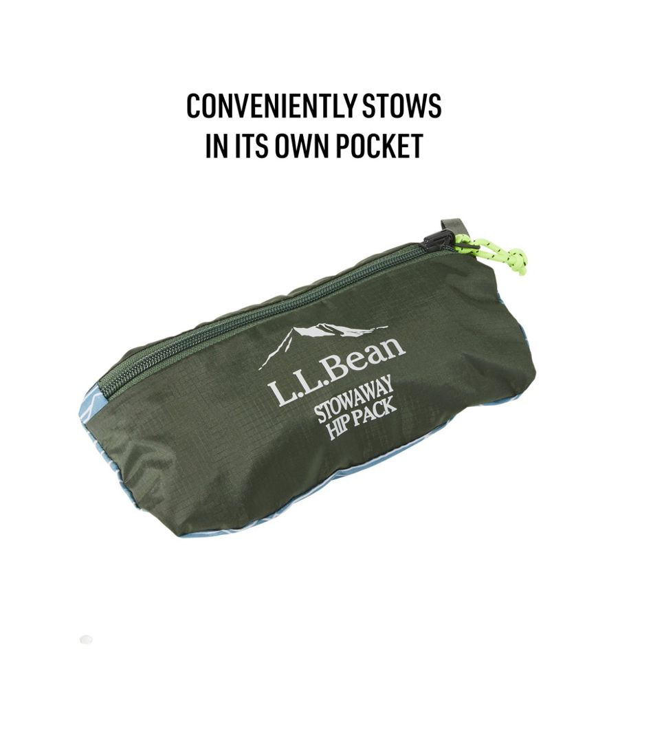 L.L.Bean Stowaway Hip Pack