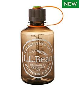 Nalgene Narrow Mouth Water Bottle with L.L.Bean Logo, Print 16 oz.