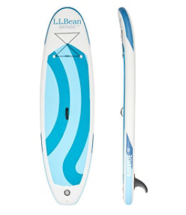L.L.Bean Bayside Inflatable Stand-Up Paddleboard Package, 10'