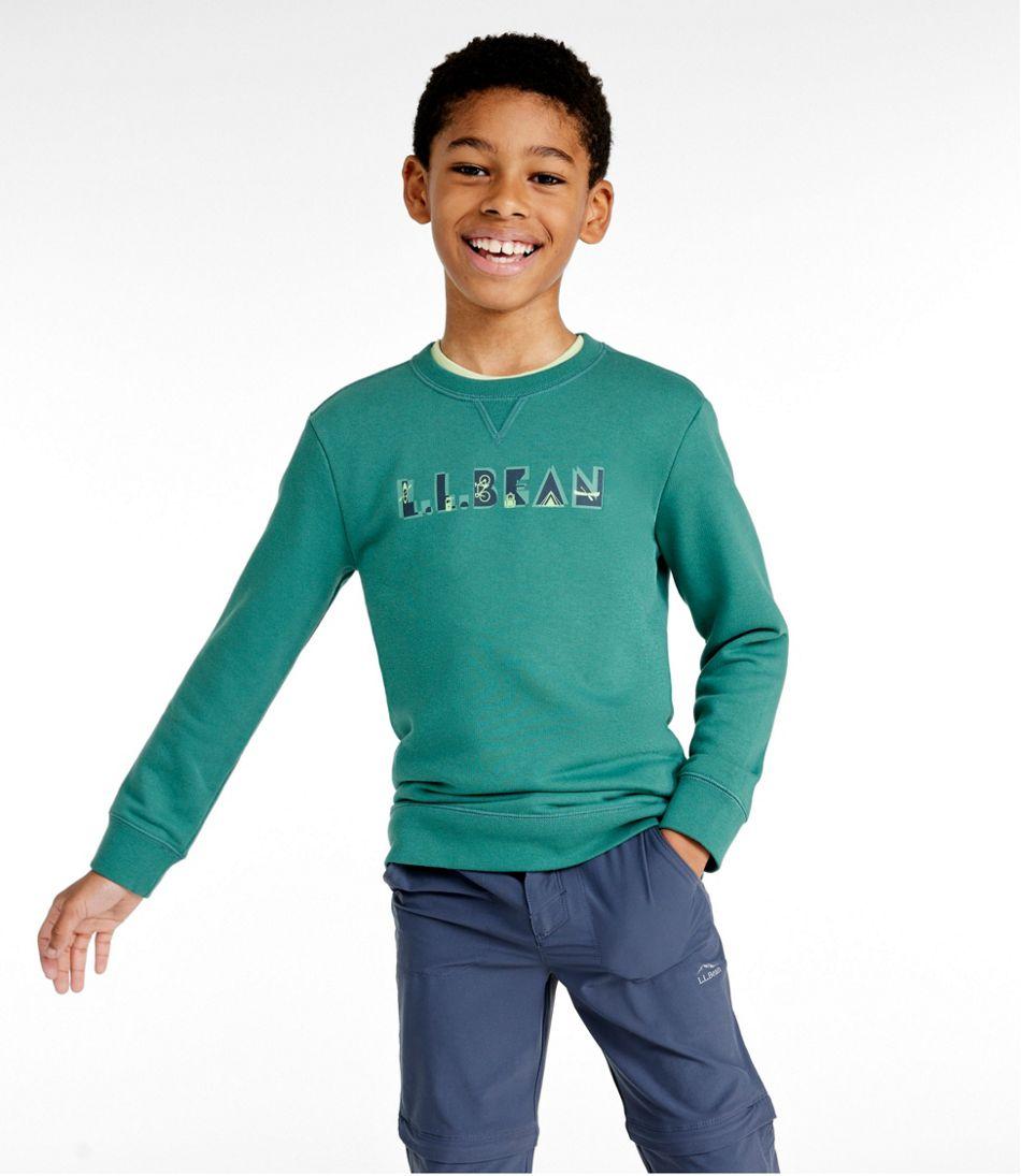 Kids' Athleisure Top, Long-Sleeve