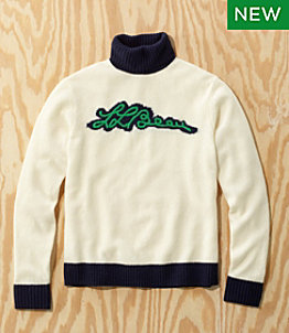 Men's L.L.Bean x Todd Snyder Script Sweater