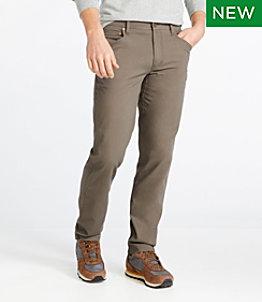 Men's BeanFlex Canvas Five-Pocket Pants, Standard Fit
