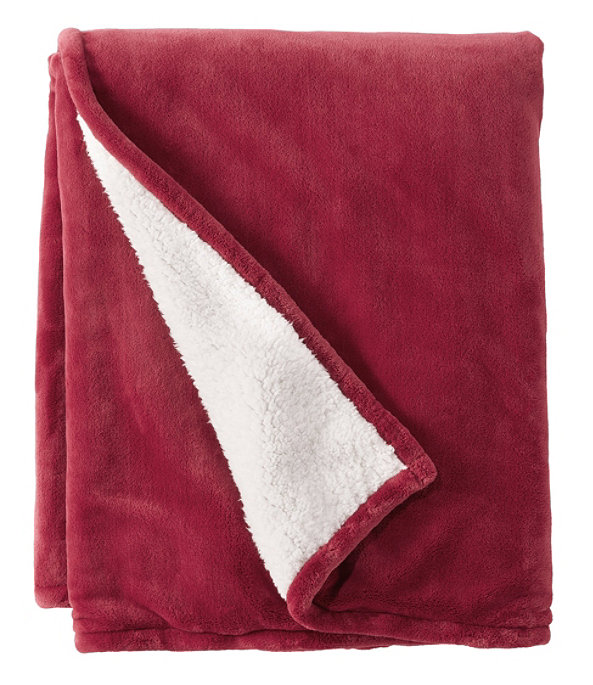 Wicked Plush Sherpa Throw, Large, , large image number 0