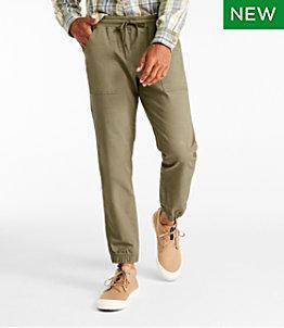 Men's Signature Pull-On Stretch Pants, Slim Taper