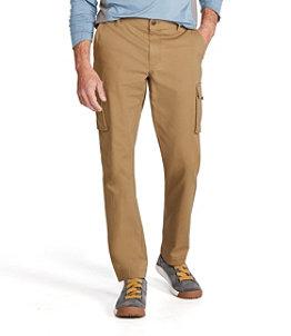 Men's BeanFlex Canvas Cargo Pants, Standard Fit