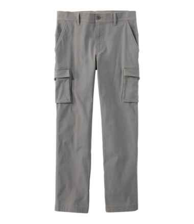 Men's BeanFlex Canvas Cargo Pants, Standard Fit