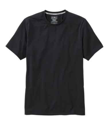 Men's Comfort Stretch Pima Tee Shirt, Short-Sleeve