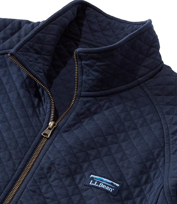 Quilted Sweatshirt Full-Zip, , large image number 3