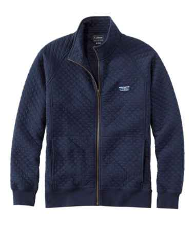 Men's L.L.Bean Quilted Sweatshirt, Full-Zip