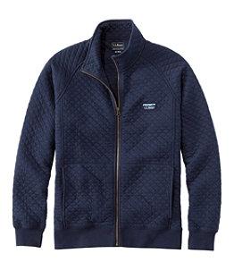 Men's L.L.Bean Quilted Sweatshirt, Full-Zip