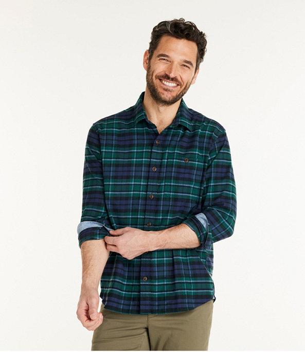Men's BeanFlex Flannel Shirt, MacCallum, large image number 1