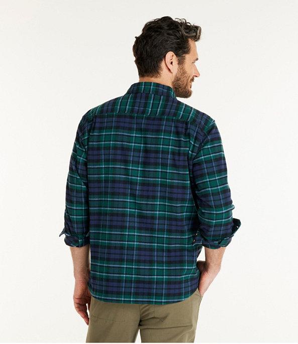 Men's BeanFlex Flannel Shirt, MacCallum, large image number 2
