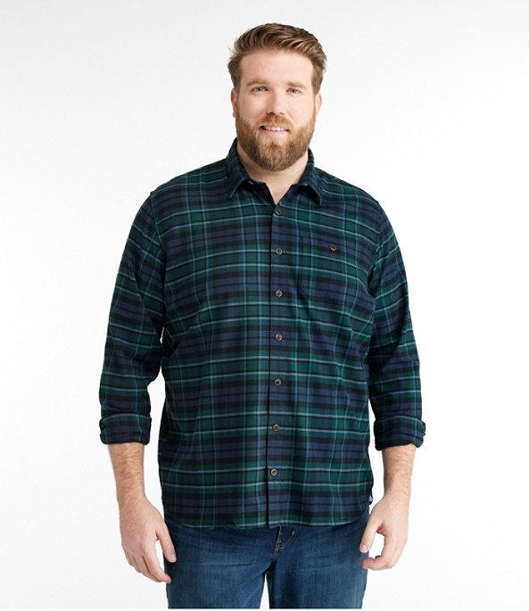 Men's BeanFlex Flannel Shirt, MacCallum, large image number 3