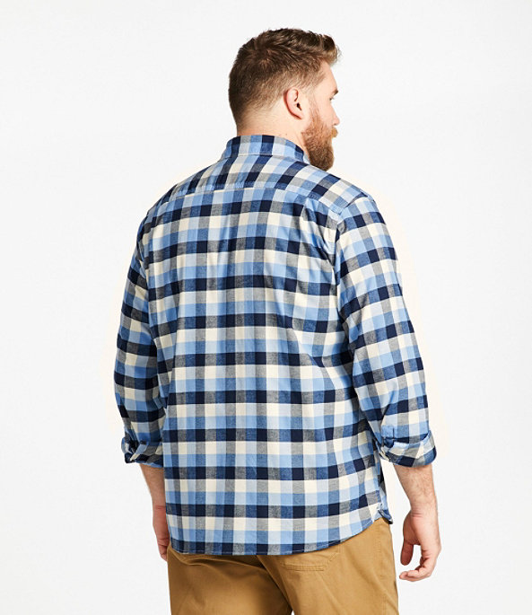Men's BeanFlex Flannel Shirt, MacCallum, large image number 4