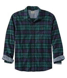 Men's BeanFlex All-Season Flannel Shirt, Traditional Untucked Fit, Long-Sleeve