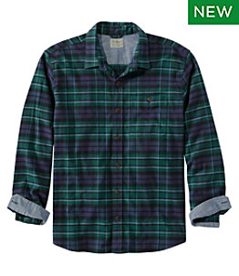 Men's BeanFlex All-Season Flannel Shirt, Traditional Fit, Long-Sleeve
