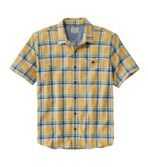 Men's BeanFlex All-Season Flannel Shirt, Traditional Fit, Short-Sleeve