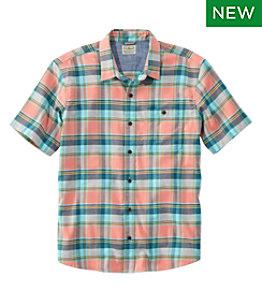 Men's BeanFlex All-Season Flannel Shirt, Traditional Fit, Short-Sleeve