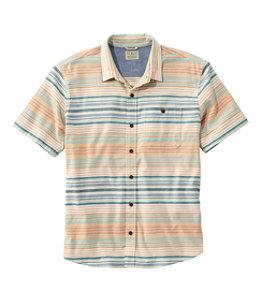 Men's BeanFlex All-Season Flannel Shirt, Traditional Untucked Fit, Short-Sleeve