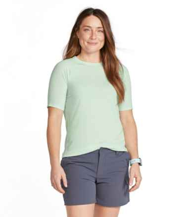 Women's Everyday SunSmart™ Tee, Crewneck Short-Sleeve
