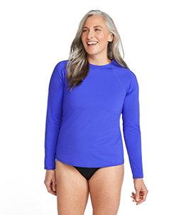 Women's ReNew Swimwear Crewneck Rash Guard
