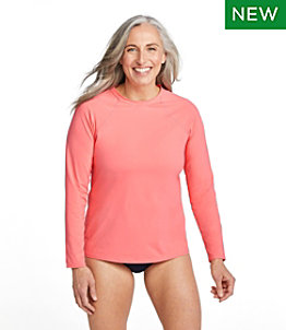 Women's ReNew Swimwear Crewneck Rash Guard