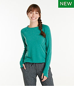 Women's Everyday SunSmart™ Tee, Crewneck Long-Sleeve