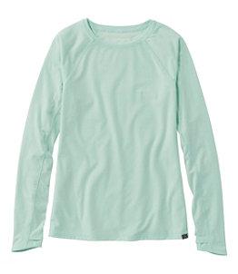 Women's Everyday SunSmart™ Tee, Crewneck Long-Sleeve
